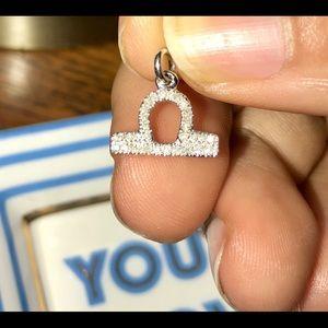 Libra Diamond pendant